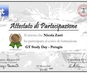 Attestato-13327 GT Study Day Perugia 2013