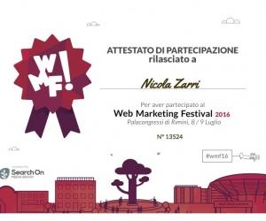 Attestato-13524 WMF 2016