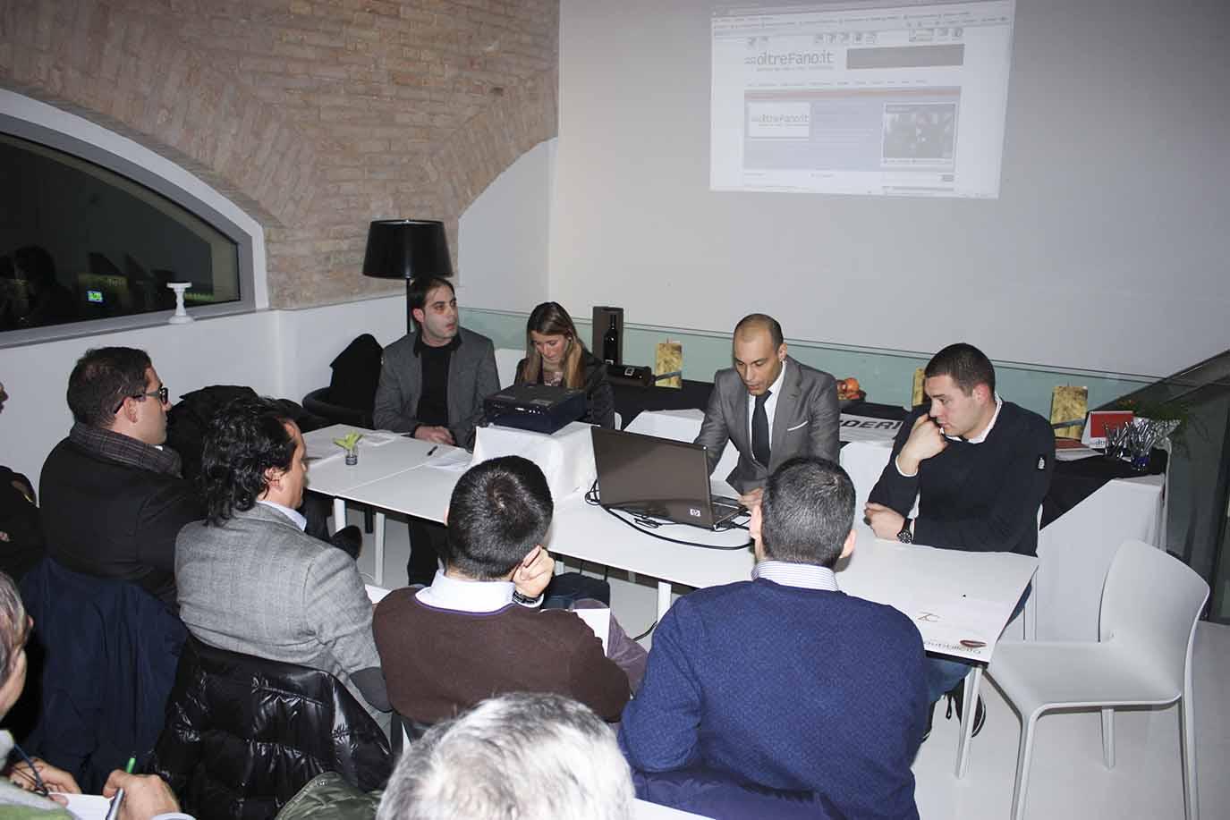 Conferenza stampa inaugurazione OltreFano.it